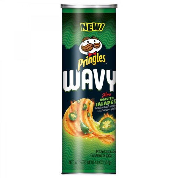 Pringles - Wavy Fire Roasted Jalapeño - 137g