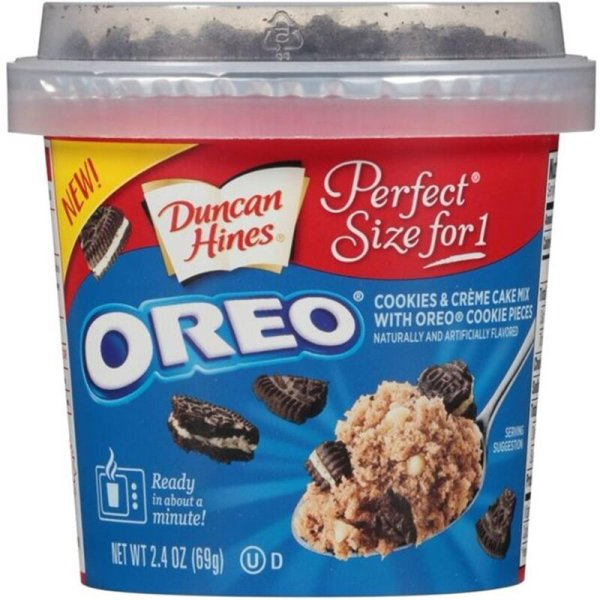 Duncan Hines Oreo - Cookies & Créme Cake Mix 69g