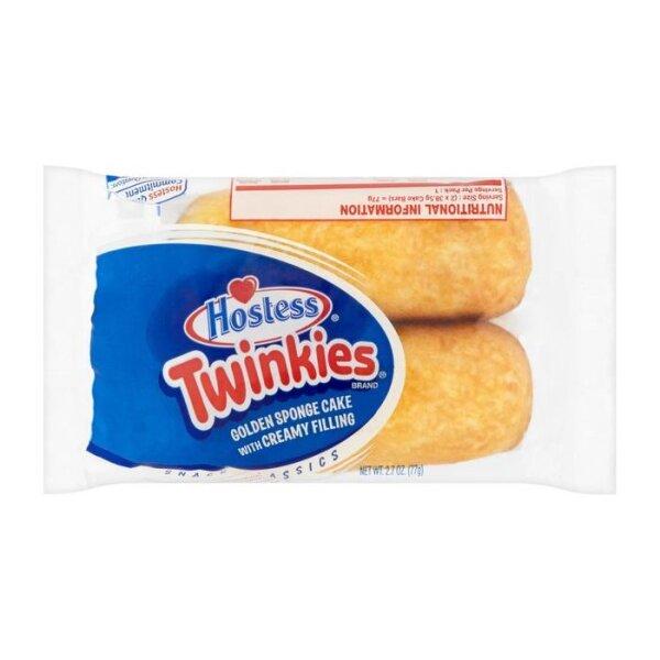 Hostess Twinkies Vanilla 2er Pack 77g
