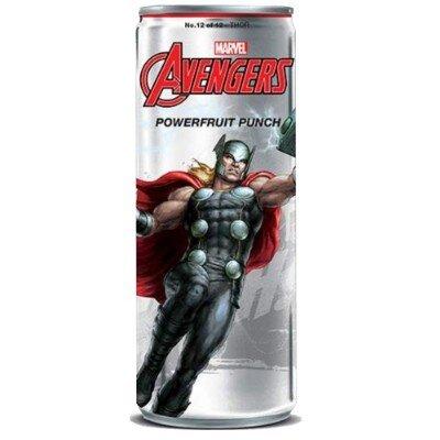 Avengers Powerfruit Punch Thor Soda 355ml