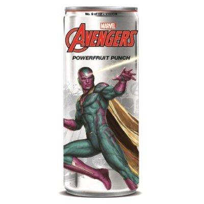 Avengers Powerfruit Punch Vision Soda 355ml