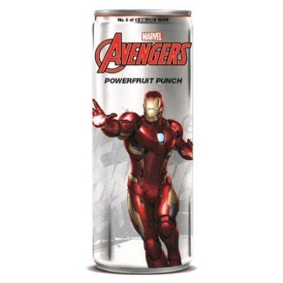 Avengers Powerfruit Punch Iron Man Soda 355ml