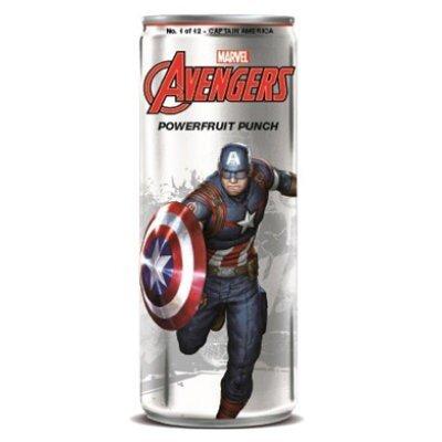 Avengers Powerfruit Punch Captain America Soda 355ml