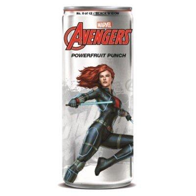 Avengers Powerfruit Punch Black Widow Soda 355ml