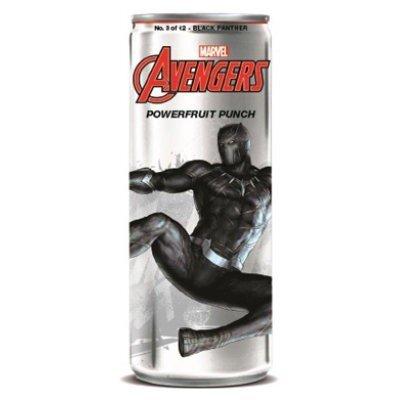 Avengers Powerfruit Punch Black Panther Soda 355ml