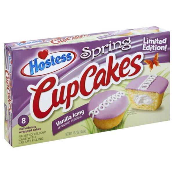 Hostess Cupcakes Vanilla Limited Edition 360g