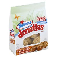 Hostess Donettes Carrot Cake Donuts Limited Edition 269g