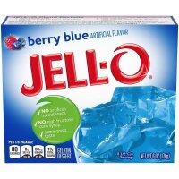 Jell-O Berry Blue Gelatin Dessert 170g