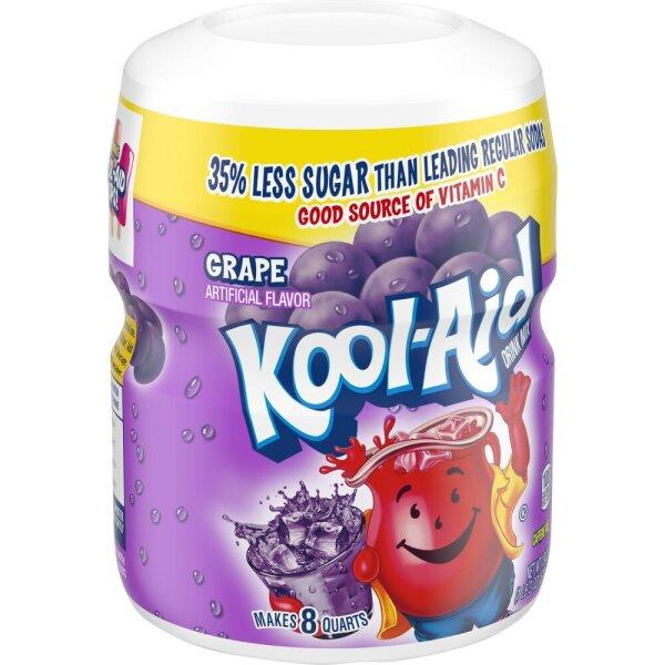 Kool Aid Drink Mix Grape 538g