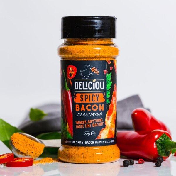 Deliciou - Bacon Seasoning Spicy 55g