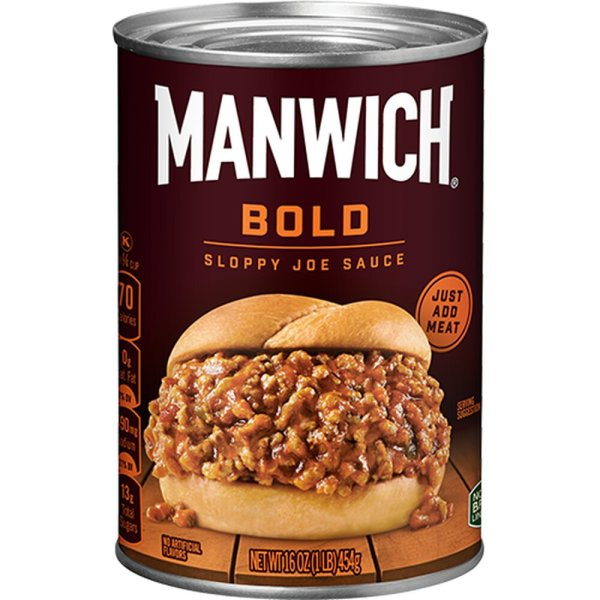 Hunts Manwich Sloppy Joe BOLD Sauce 453g