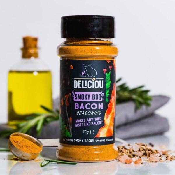 Deliciou - Bacon Seasoning Smoky BBQ 60g