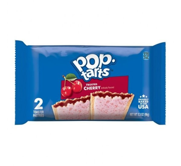 Kelloggs Pop-Tarts Frosted Cherry Doppelpack 96g