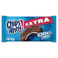Chips Ahoy Cookies Extra Oreo Creme 156g