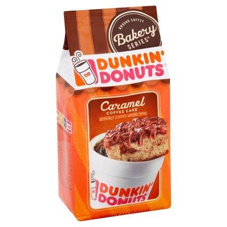 Dunkin Donuts Caramel Coffee Cake 311g
