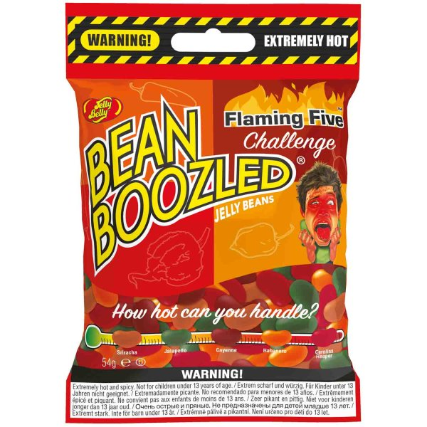 """Jelly Belly Bean Boozled """"Flaming Five Challenge"""" Refill 54g"""