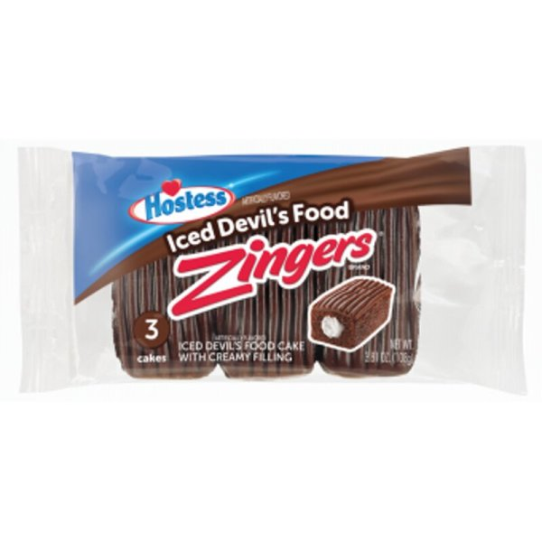 Hostess - Zingers Iced Devils Food 3er Pack 108g
