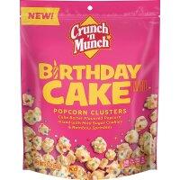 Crunch n Munch Birthday Cake Popcorn Clusters 156g