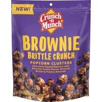 Crunch n Munch Brownie Brittle Crunch Popcorn Clusters 156g