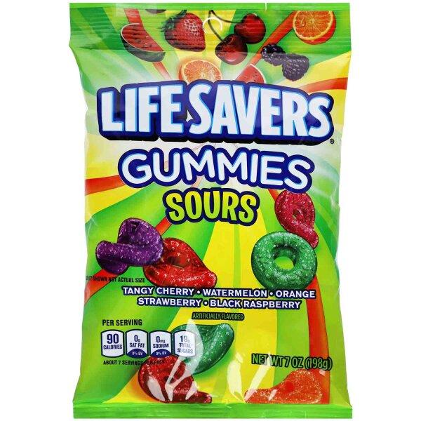 Lifesavers Gummies Sours 198g
