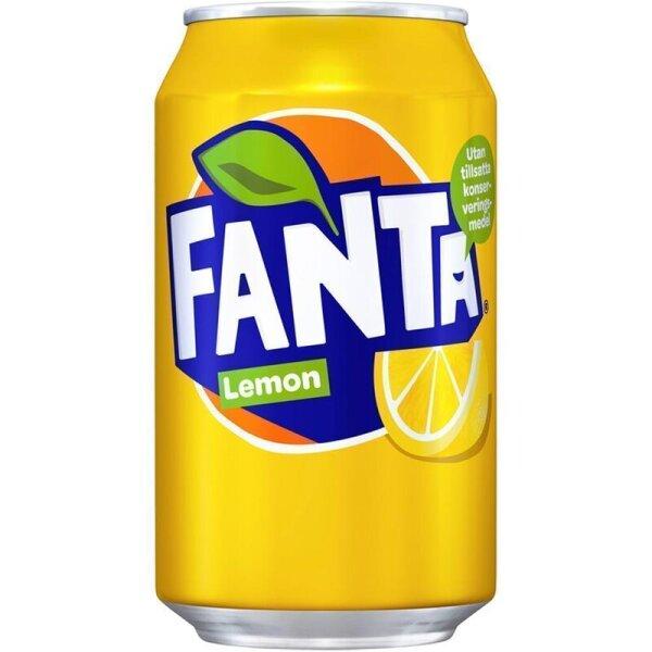 Fanta - Lemon (DK) - 355 ml