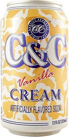C&C Vanilla Cream Soda 355ml