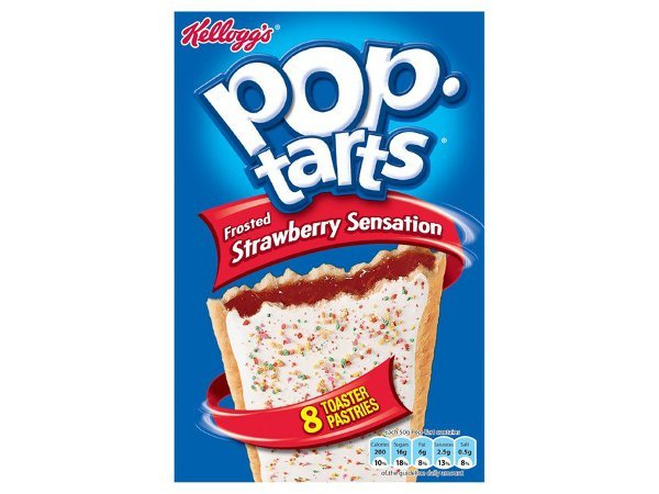 Kelloggs Pop-Tarts Frosted Strawberry Sensation 384g