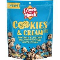 Crunch n Munch Cookie n Cream Popcorn Clusters 156g