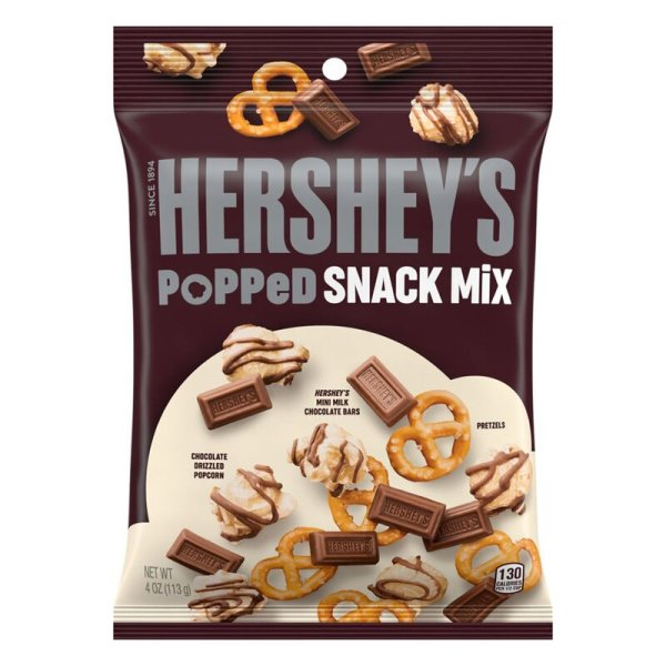 Hershey´s Popped Snack Mix 113g