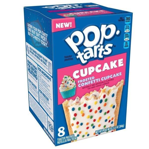 Kellogg's Pop-Tarts Frosted Confetti Cupcake - 8 Stück 384g