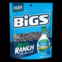Bigs Sunflower Seeds Zesty Ranch 152g
