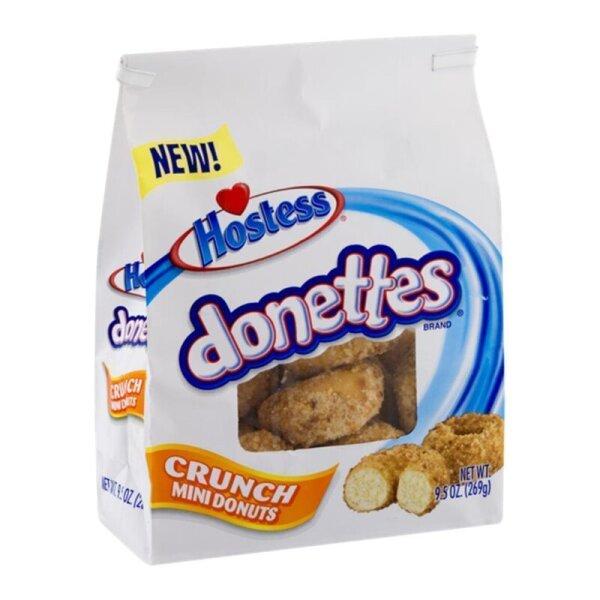 Hostess Donettes Crunch Mini Donuts 269g