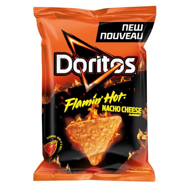 Doritos Flammin´ Hot Nacho Cheese Flavour 170g