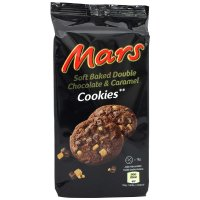 Mars Soft Baked Double Chocolate & Caramel Cookies 162g