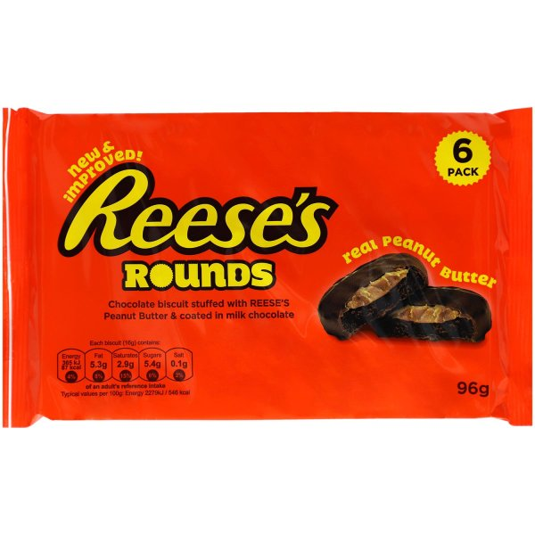 Reese´s Rounds 6er Pack 96g