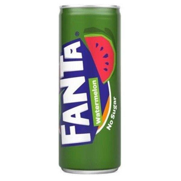 Fanta - Watermelon no Sugar 250ml (NL)