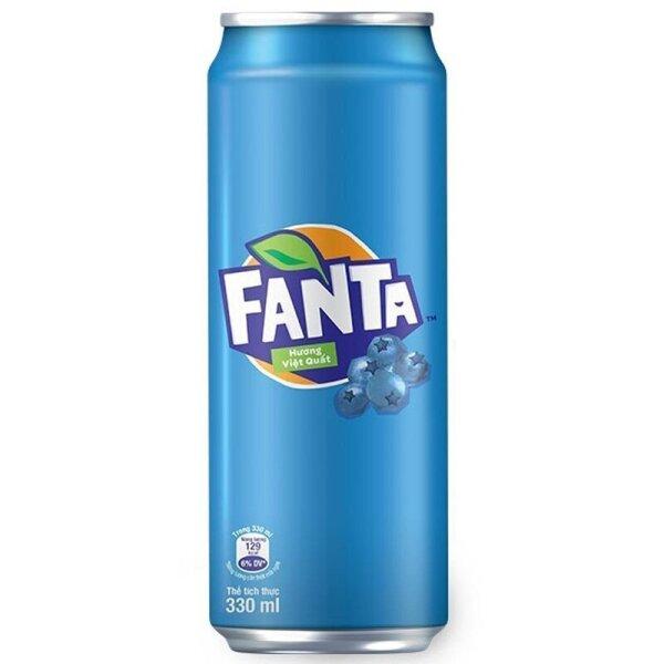 Fanta - Blueberry 320ml (Vietnam)