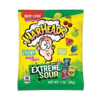 Warheads Extreme Sour Hard Candy - 28g