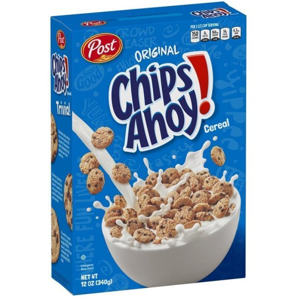 Post Chips Ahoy! Cereal 340g