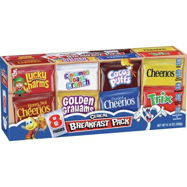 General Mills - Cereal Breakfast Pack 259g
