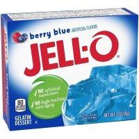 Jell-O Berry Blue Geleespeise mit Fruchtgeschmack 85g