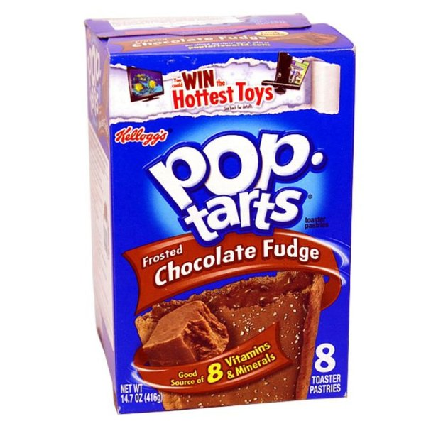 Kellogg's Pop-Tarts Frosted Chocolate Fudge 384g
