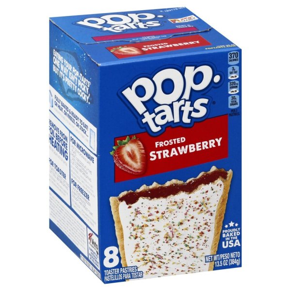 Kellogg's Pop-Tarts Frosted Strawberry 384g