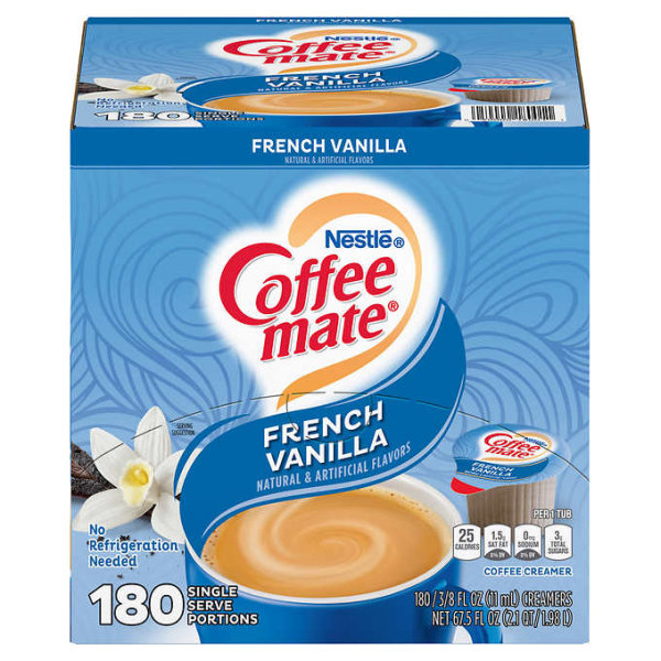 Nestle Coffee Mate French Vanilla 180 x 11 ml