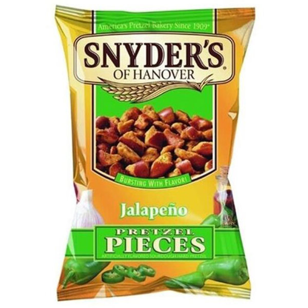 Snyders Jalapeno Pretzel Pieces 125g