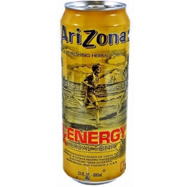 Arizona Ice Tea RX Energy Herbal Tonic 680ml