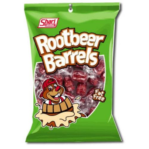 Rootbeer Barrels Bonbons 128g
