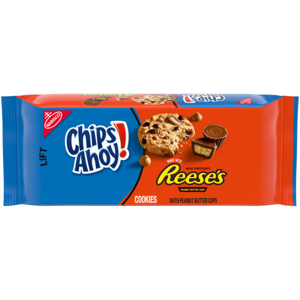 Chips Ahoy Cookies with Reese´s Peanut Butter Cups 269g