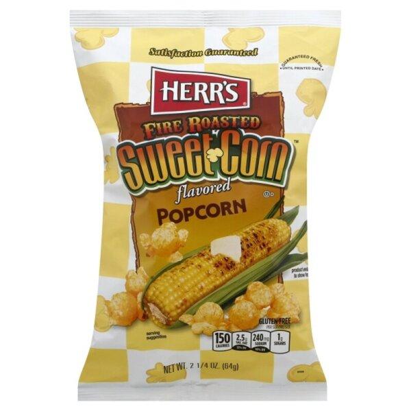 Herr´s Fire Roasted Sweet Corn Popcorn 64g