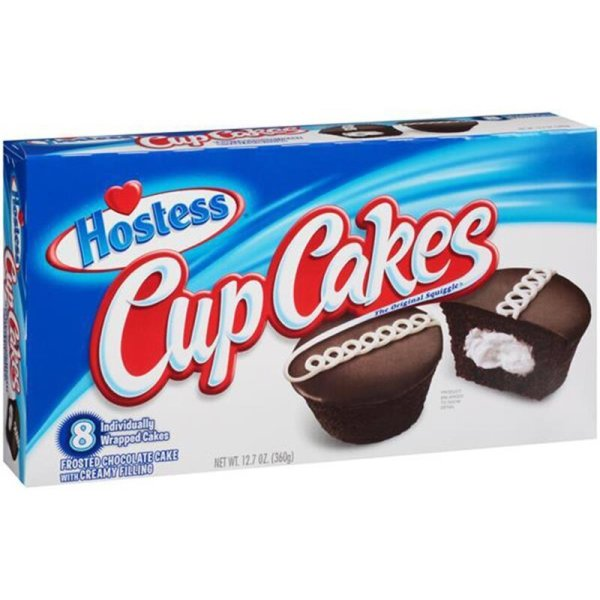 Hostess Cupcakes Frosted Chocolate 360g